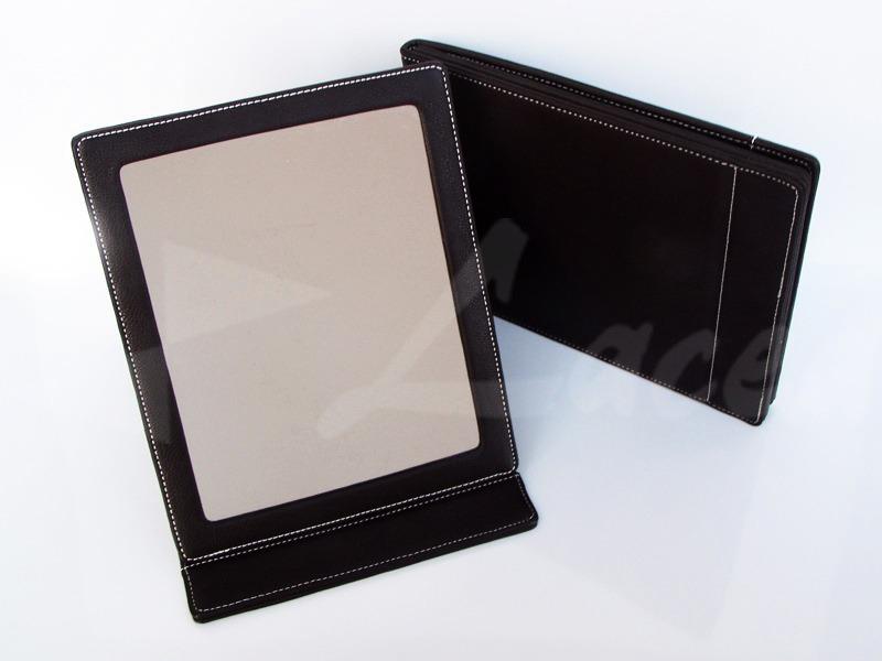 Specchio da tavolo in similpelle lacea packaging - Specchio da tavolo ...
